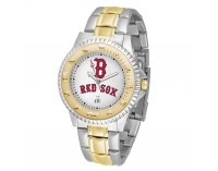 Boston Red Sox B Logo Two-Tone Competitor Series Watch
