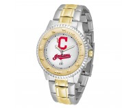 Cleveland Indians Two-Tone Competitor Series Watch