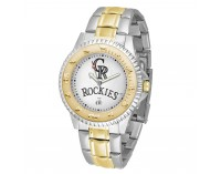 Colorado Rockies Two-Tone Competitor Series Watch