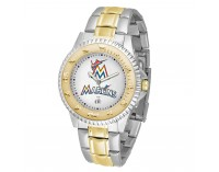 Miami Marlins Two-Tone Competitor Series Watch