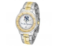 New York Yankees Pinstripe Two-Tone Competitor Series Watch