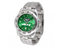 New York Jets Sport Steel Series Watch