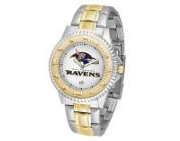 Baltimore Ravens Two-Tone Competitor Series Watch