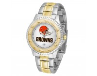 Cleveland Browns Two-Tone Competitor Series Watch