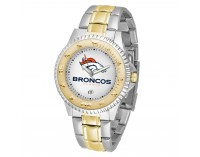 Denver Broncos Two-Tone Competitor Series Watch