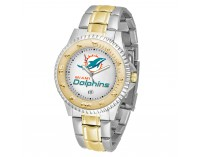 Miami Dolphins Two-Tone Competitor Series Watch