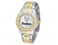 Pittsburgh Steelers Two-Tone Competitor Series Watch