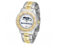 Seattle Seahawks Two-Tone Competitor Series Watch