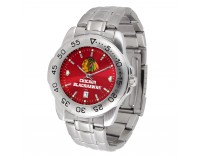 Chicago Blackhawks Sport Steel Series Watch