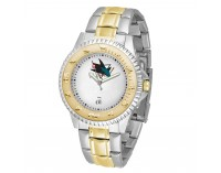 San Jose Sharks Two-Tone Competitor Series Watch