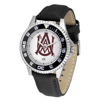 Alabama A&M University Bulldogs Mens Watch - Competitor Poly/Leather Band