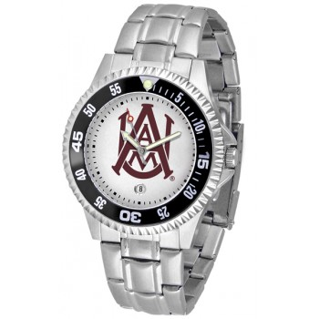 Alabama A&M University Bulldogs Mens Watch - Competitor Steel Band