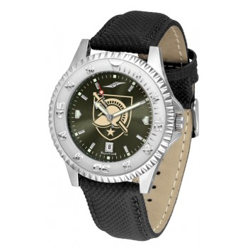 United States Military Academy Army Black Knights Mens Watch - Competitor Anochrome Poly/Leather Band