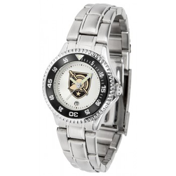 United States Military Academy Army Black Knights Ladies Watch - Competitor Steel Band