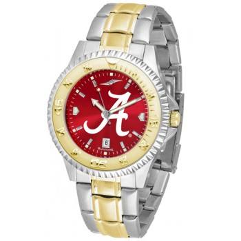 University Of Alabama Crimson Tide Mens Watch - Competitor Anochrome Two-Tone