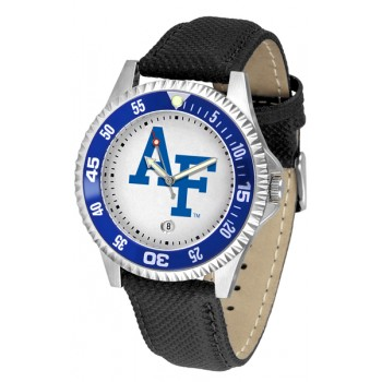 United States Air Force Academy Falcons Mens Watch - Competitor Poly/Leather Band
