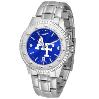 United States Air Force Academy Falcons Mens Watch - Competitor Anochrome Steel Band