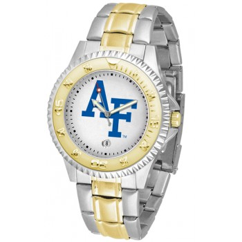 United States Air Force Academy Falcons Mens Watch - Competitor Two-Tone
