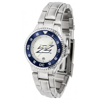University Of Akron Zips Ladies Watch - Competitor Steel Band