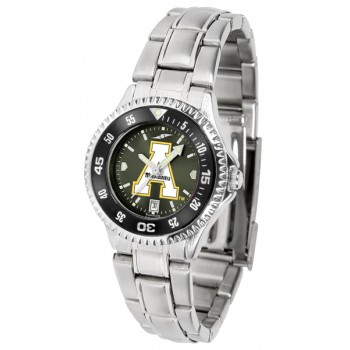 Appalachian State University Mountaineers Ladies Watch - Competitor Anochrome - Colored Bezel - Steel Band