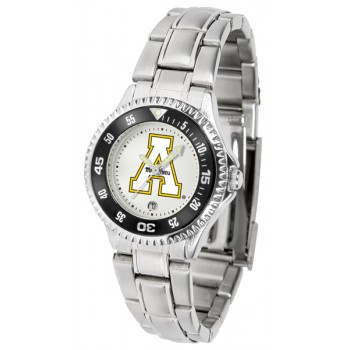Appalachian State University Mountaineers Ladies Watch - Competitor Steel Band