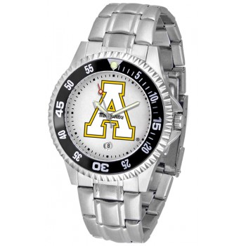 Appalachian State University Mountaineers Mens Watch - Competitor Steel Band