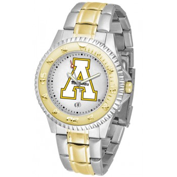 Appalachian State University Mountaineers Mens Watch - Competitor Two-Tone