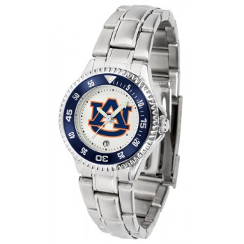 Auburn University Tigers Ladies Watch - Competitor Steel Band