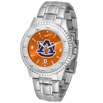 Auburn University Tigers Mens Watch - Competitor Anochrome Steel Band