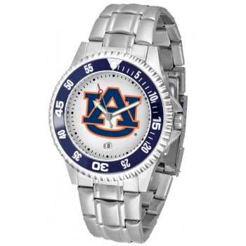 Auburn University Tigers Mens Watch - Competitor Steel Band