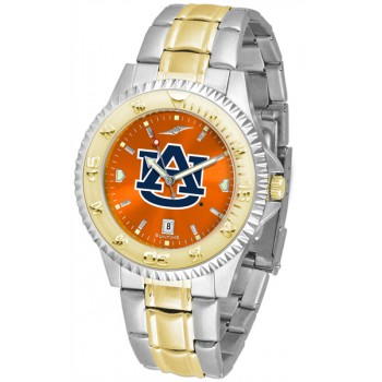 Auburn University Tigers Mens Watch - Competitor Anochrome Two-Tone