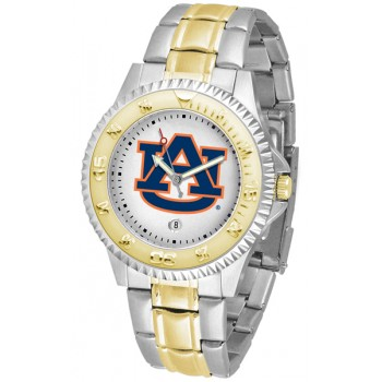 Auburn University Tigers Mens Watch - Competitor Two-Tone