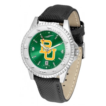 Baylor University Bears Mens Watch - Competitor Anochrome Poly/Leather Band
