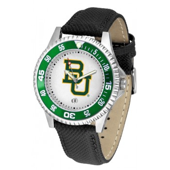 Baylor University Bears Mens Watch - Competitor Poly/Leather Band