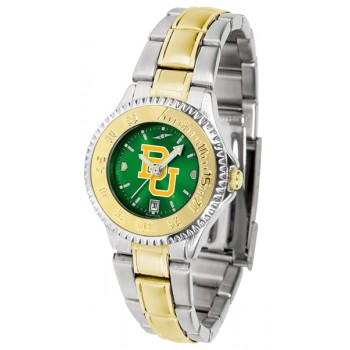 Baylor University Bears Ladies Watch - Competitor Anochrome Two-Tone