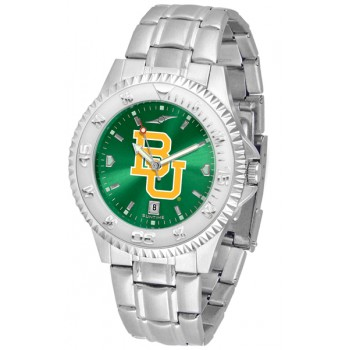 Baylor University Bears Mens Watch - Competitor Anochrome Steel Band