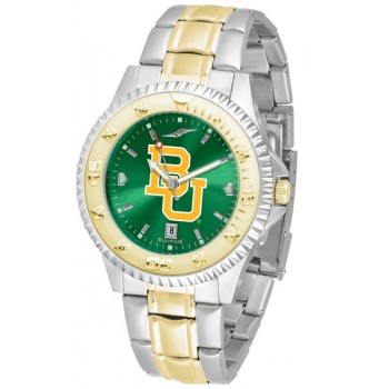 Baylor University Bears Mens Watch - Competitor Anochrome Two-Tone