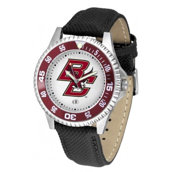 Boston College Eagles Mens Watch - Competitor Poly/Leather Band