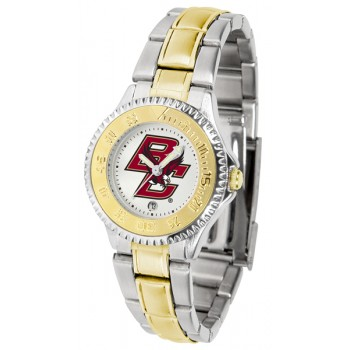 Boston College Eagles Ladies Watch - Competitor Two-Tone