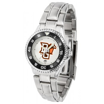 Bowling Green State University Falcons Ladies Watch - Competitor Steel Band