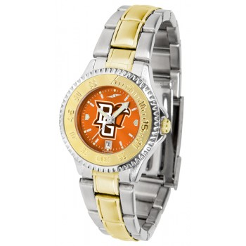 Bowling Green State University Falcons Ladies Watch - Competitor Anochrome Two-Tone