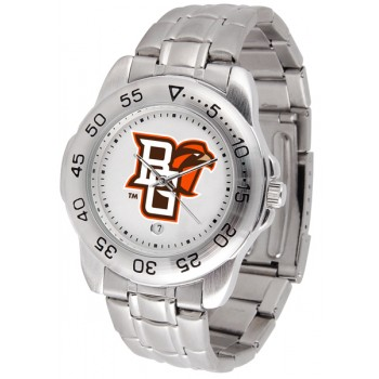 Bowling Green State University Falcons Mens Watch - Sport Steel Band