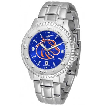 Boise State University Broncos Mens Watch - Competitor Anochrome Steel Band