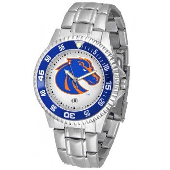 Boise State University Broncos Mens Watch - Competitor Steel Band