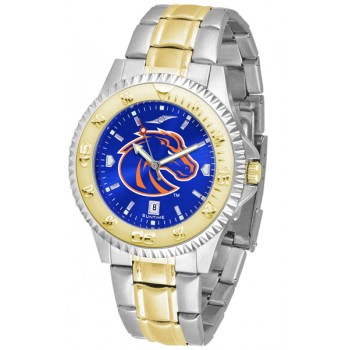 Boise State University Broncos Mens Watch - Competitor Anochrome Two-Tone