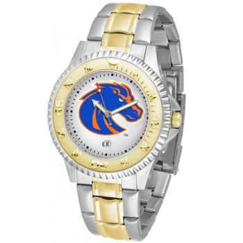 Boise State University Broncos Mens Watch - Competitor Two-Tone