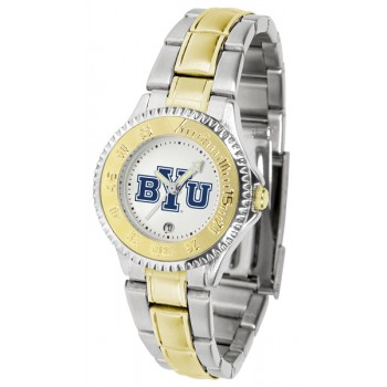 Brigham Young University Cougars Ladies Watch - Competitor Two-Tone