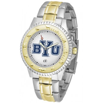 Brigham Young University Cougars Mens Watch - Competitor Two-Tone