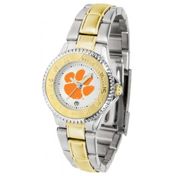 Clemson University Tigers Ladies Watch - Competitor Two-Tone
