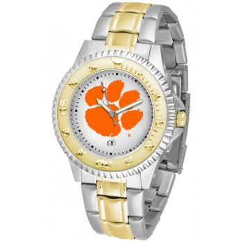 Clemson University Tigers Mens Watch - Competitor Two-Tone
